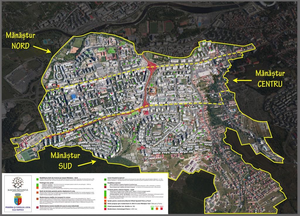 Harta Mănăștur