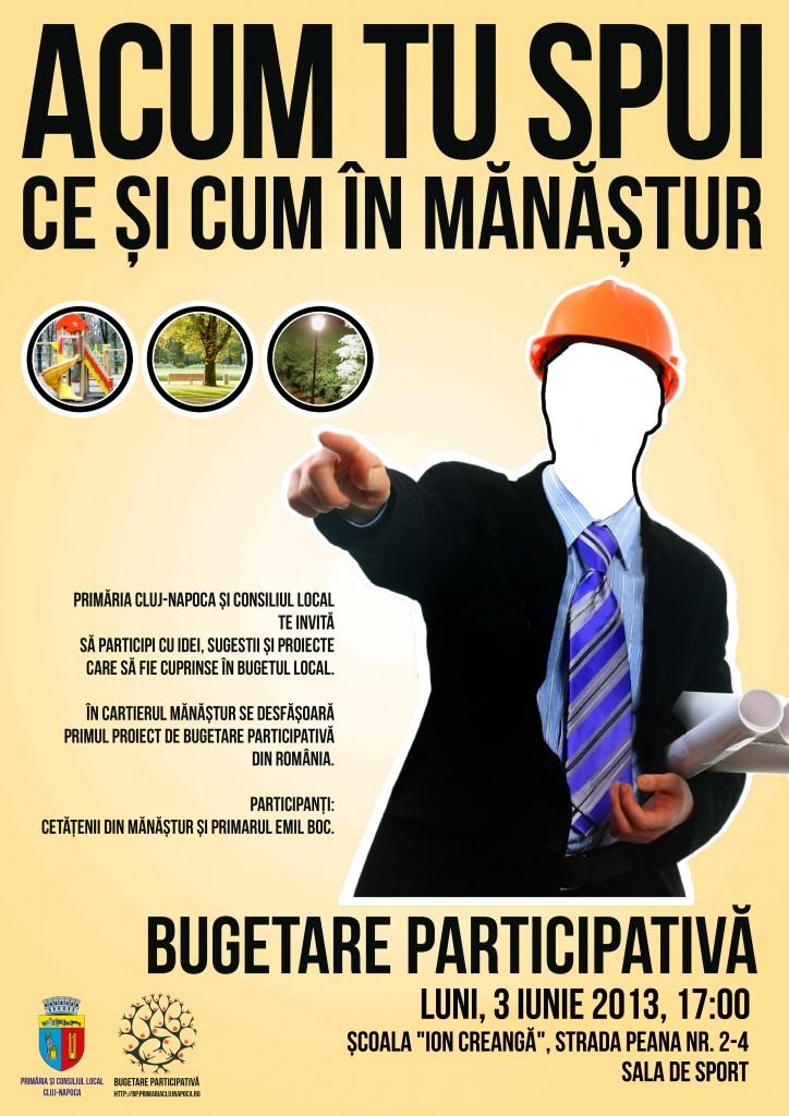 buget participativ cluj - intalnire manastur centru si nors